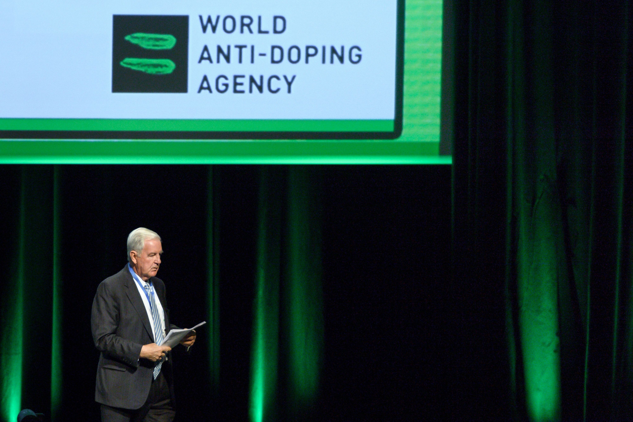 WADA President Sir Craig Reedie welcomed the increase in the organisation's budget ©Getty Images