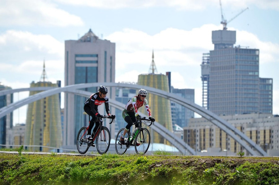 Astana is set to host its first-ever International Triathlon Union World Cup tomorrow ©ITU