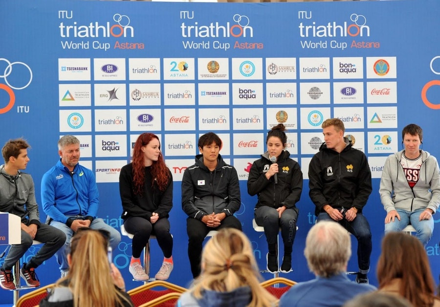 A number of leading athletes are due to compete in the event ©ITU