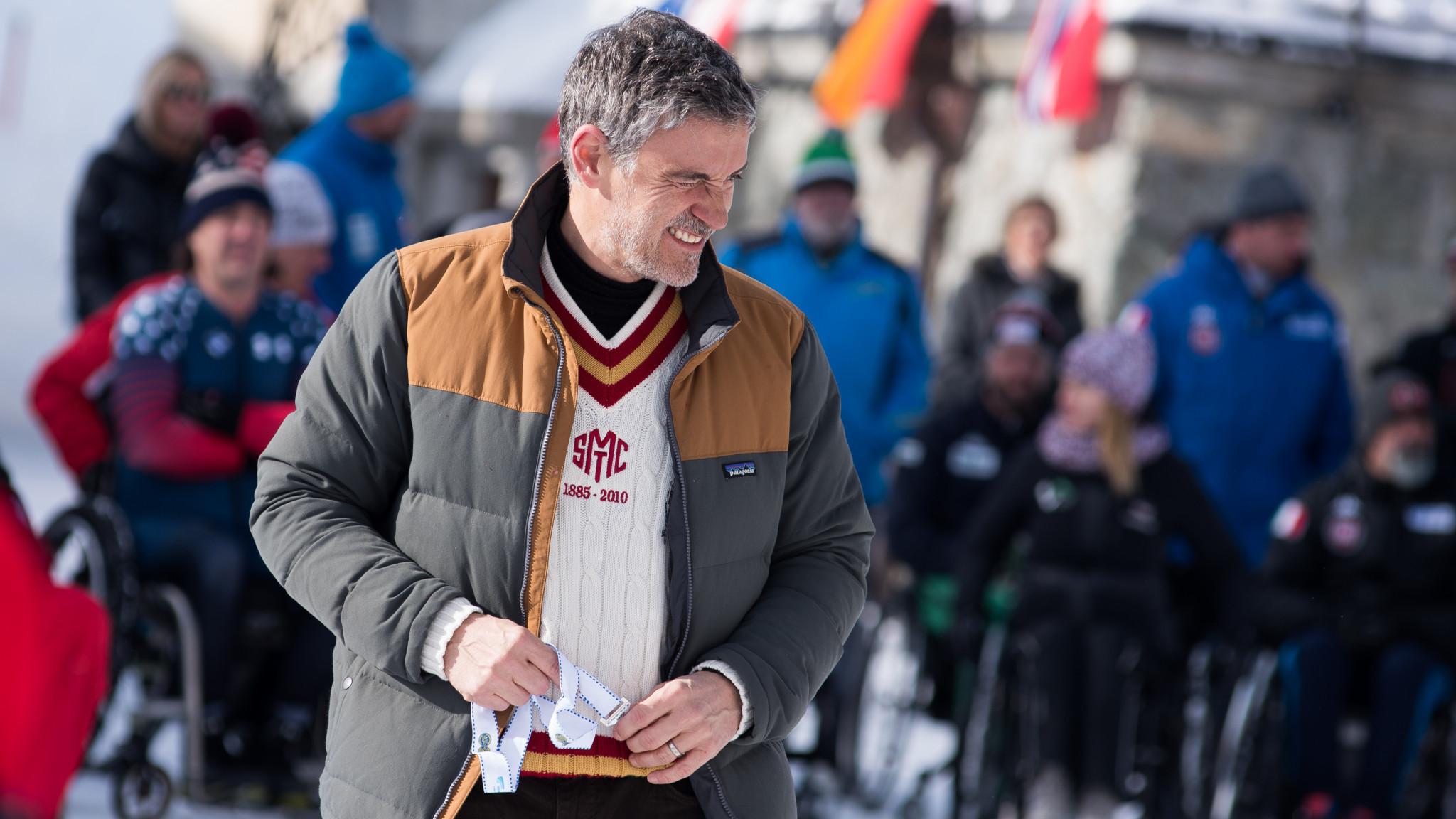Fritz Burkard is also seeking election as President of the IBSF ©Fritz Burkard
