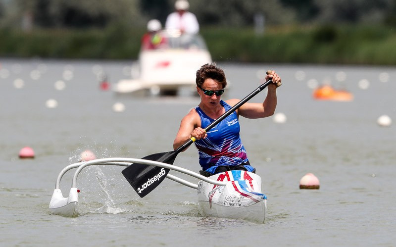 Wiggs beats British team-mate in new Tokyo 2020 event at ICF Paracanoe World Cup