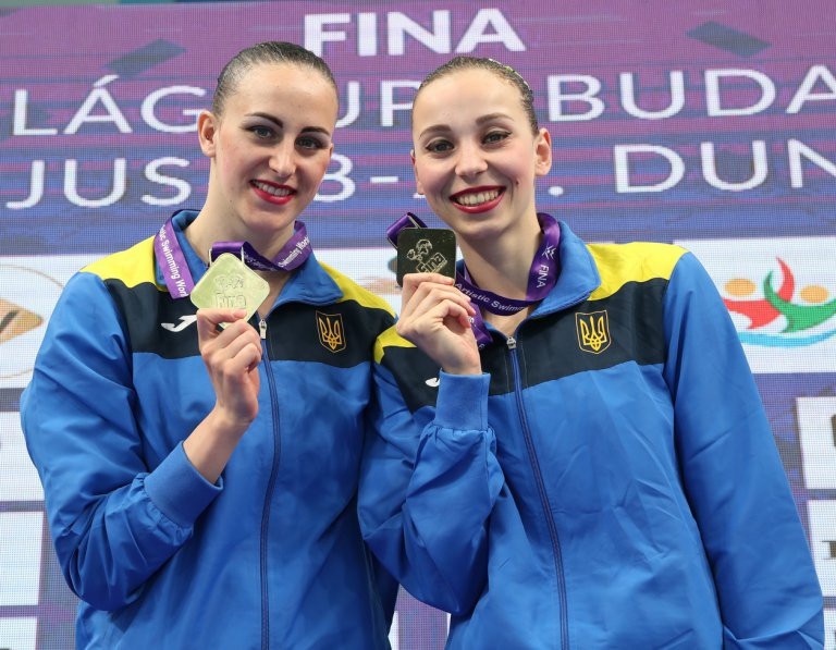 Anastasia Savchuk and Yelizaveta Yakhno scooped double gold today ©FINA