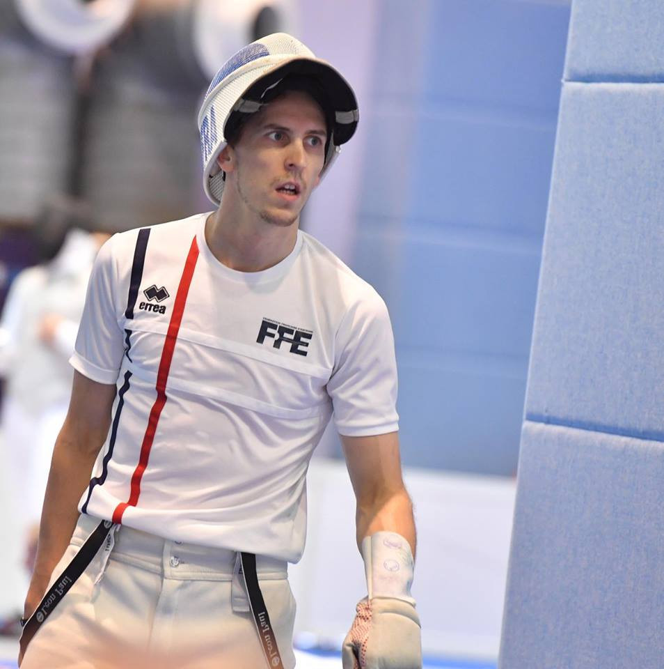 Frenchman Cadot makes promising start to FIE Foil Grand Prix campaign
