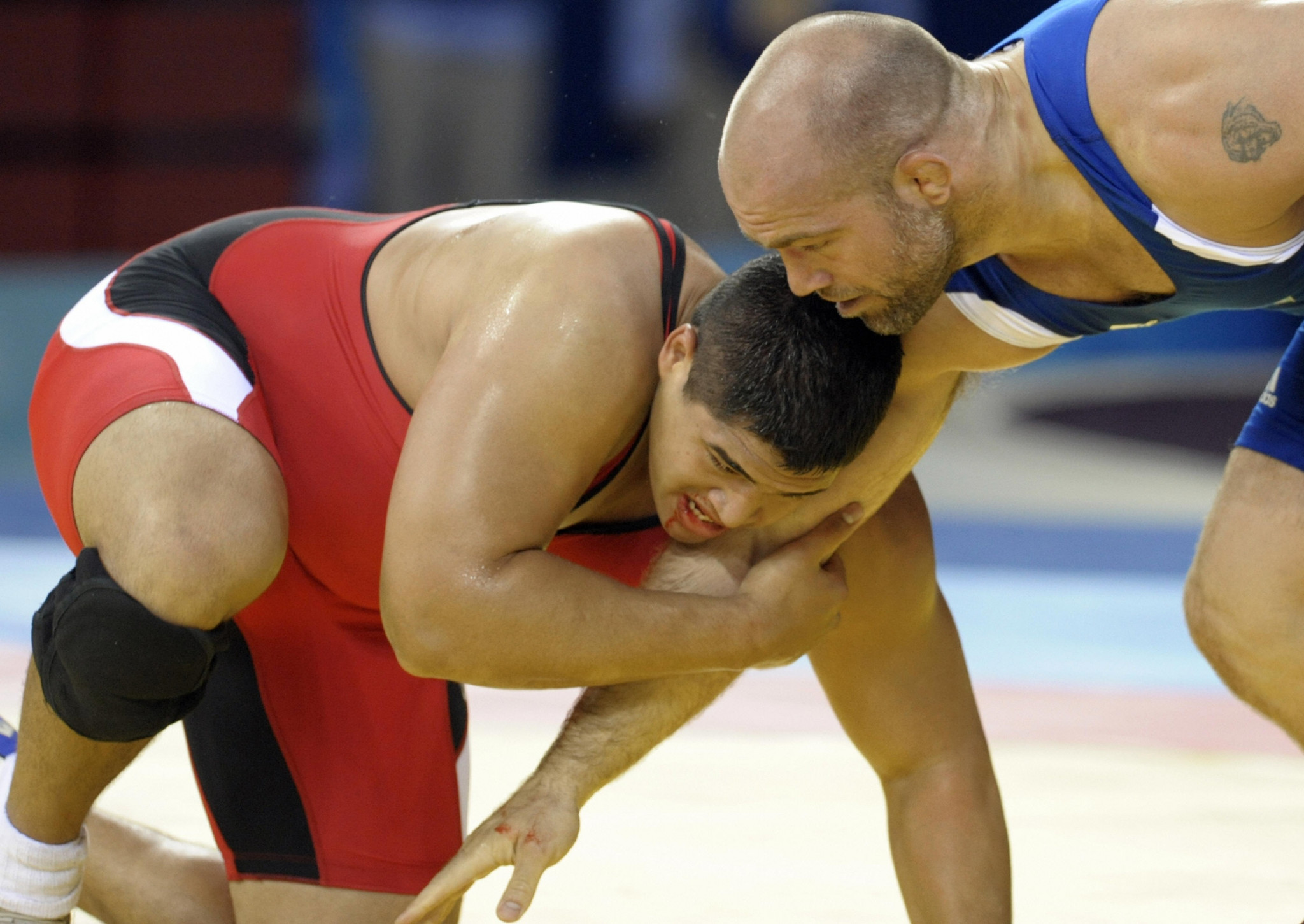 Florian Skilang Temengil was one of Palau's three Greco-Roman gold medallists at the Oceania Wrestling Championships in Dededo in Guam ©Getty Images