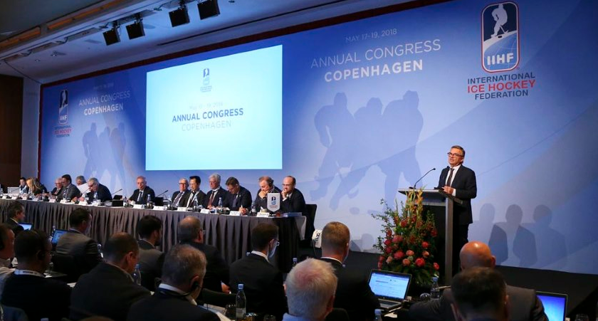 Changes were announced at the IIHF Congress ©IIHF
