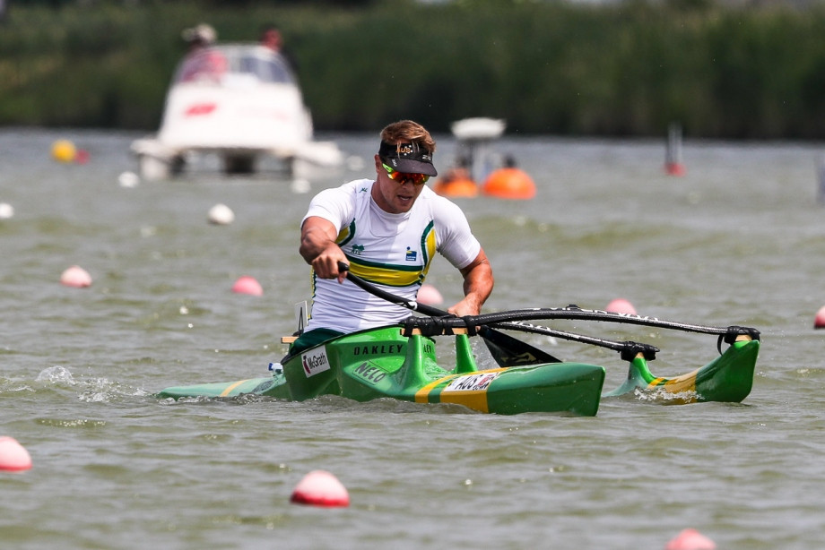 McGrath and Wiggs win again at ICF Paracanoe World Cup