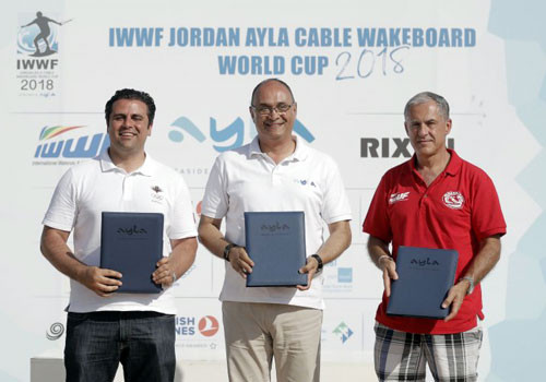 Jordan Olympic Committee signs agreement with Ayla and International Waterski and Wakeboard Federation