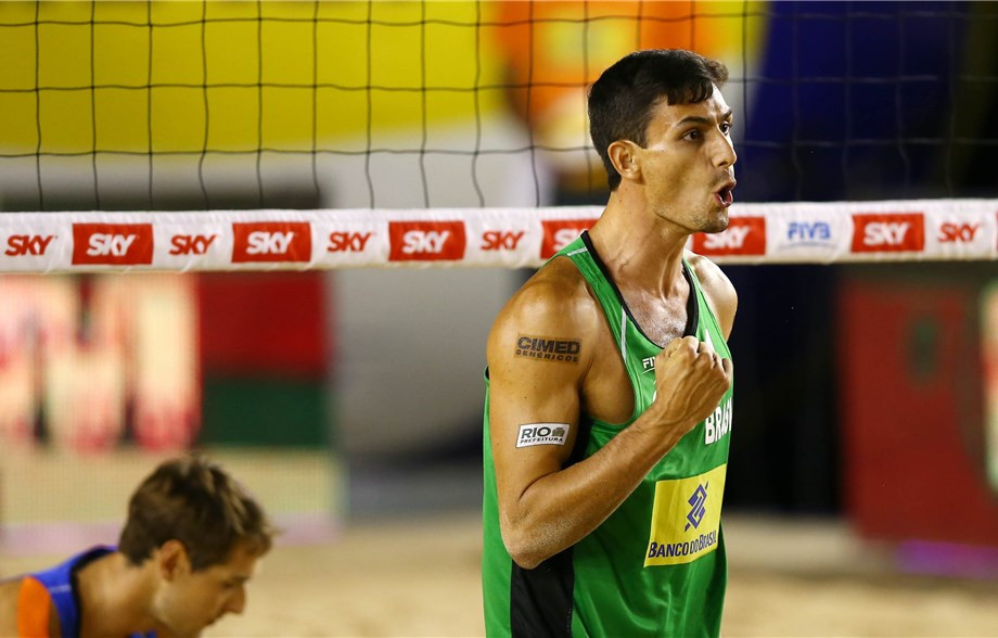 Brazilian duo reach second-straight FIVB World Tour final as action continues in Itapema