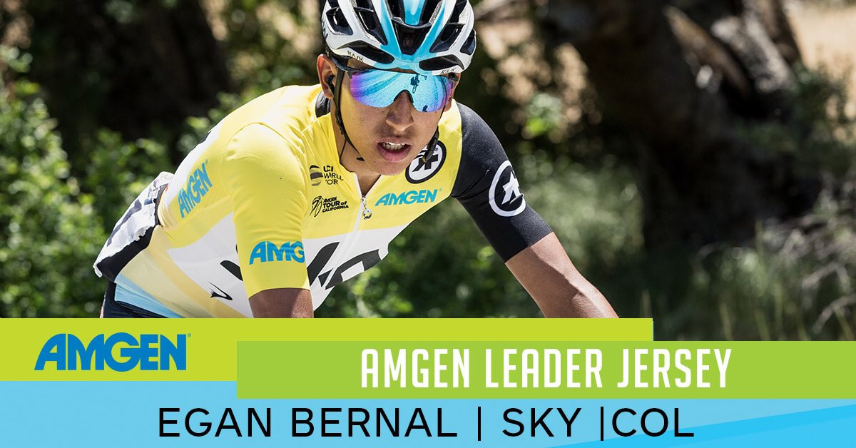 Bernal seals overall Tour of California title as Gaviria clinches third stage win