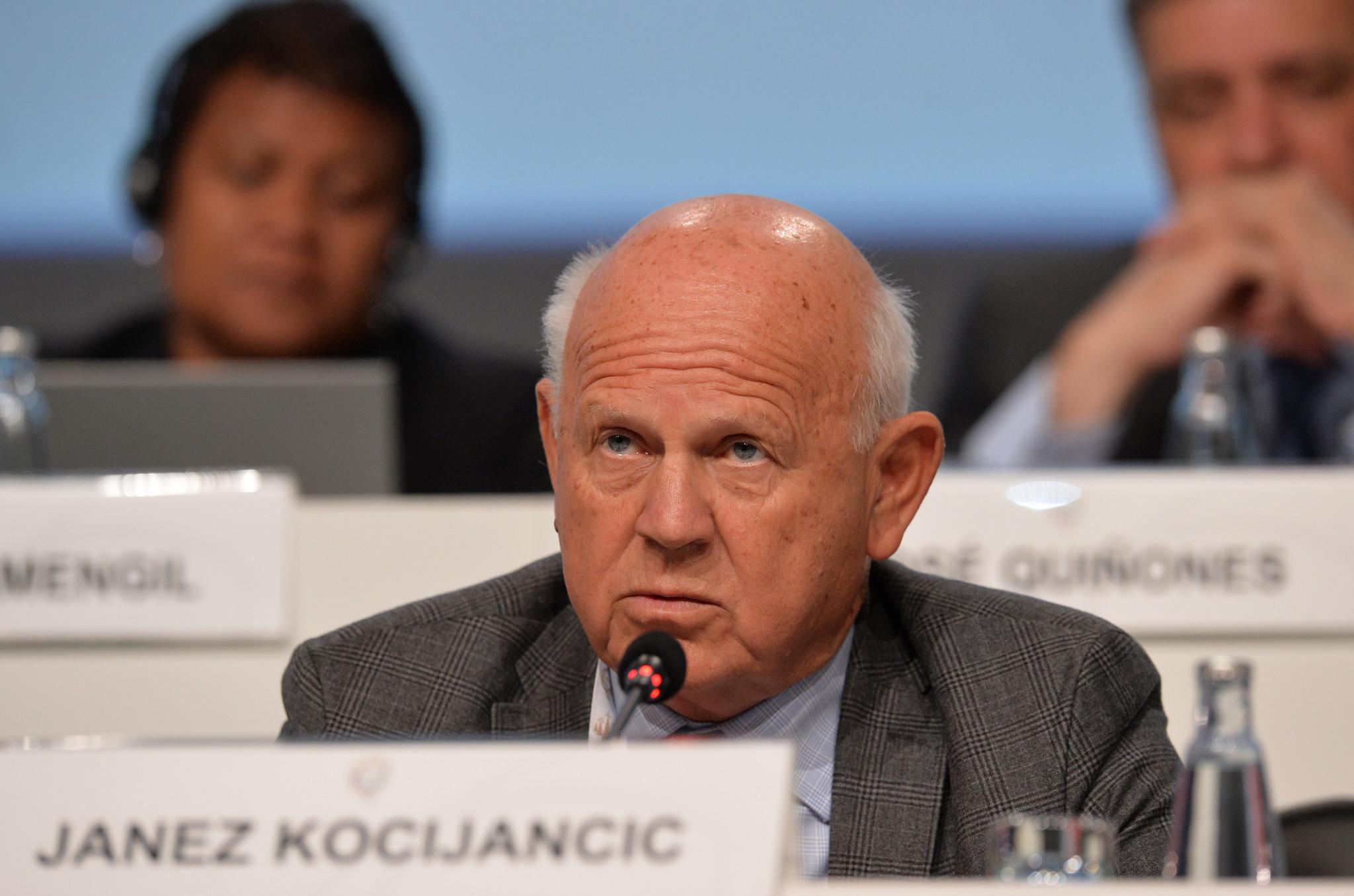 Janez Kocijančič remains an FIS vice-president ©Getty Images