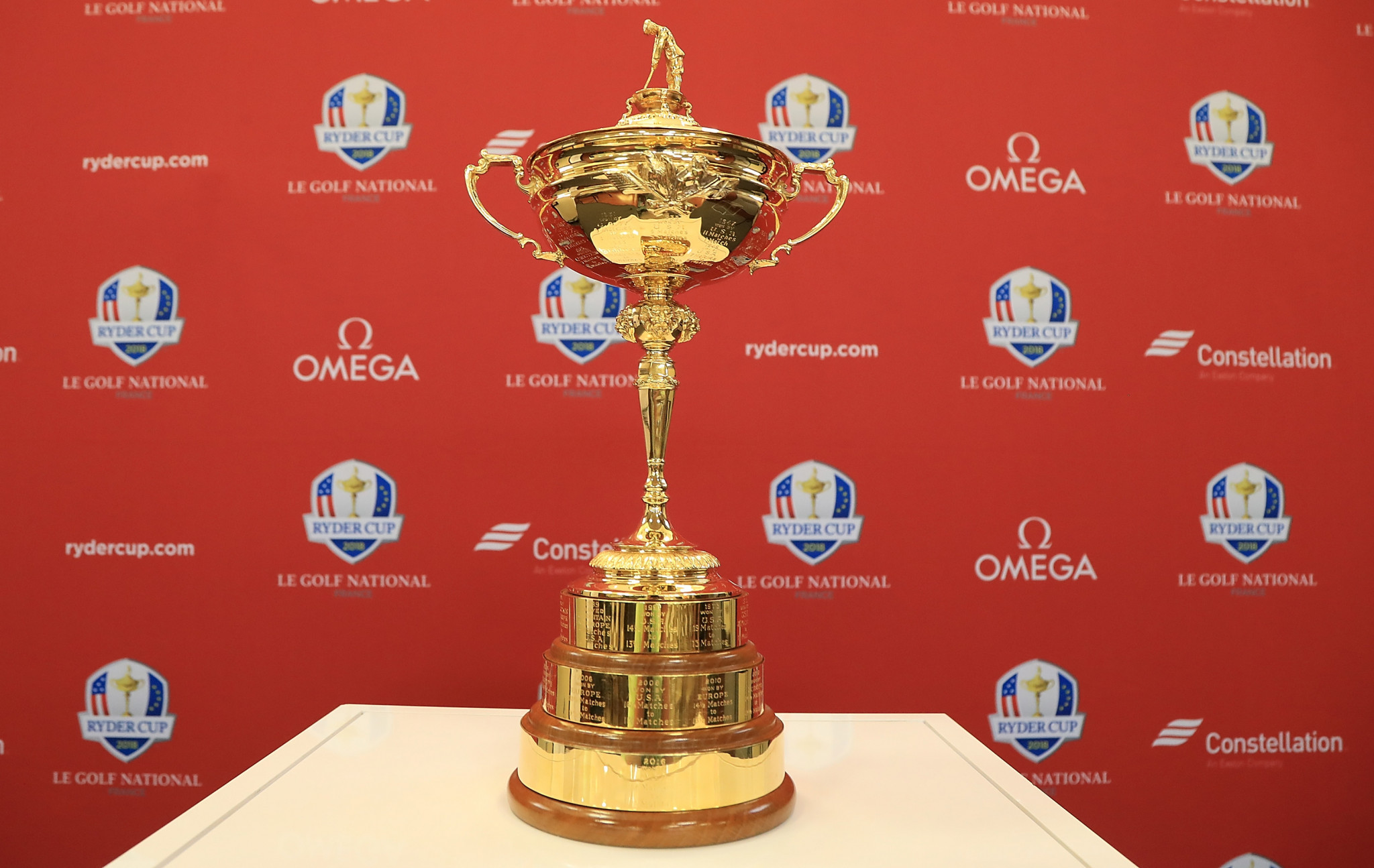 The next edition of the biennial Ryder Cup will take place at Le Golf National in France in September this year ©Getty Images