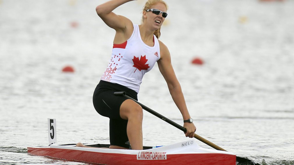 Vincent-Lapointe claims second gold in two days at ICF Canoe Sprint World Cup