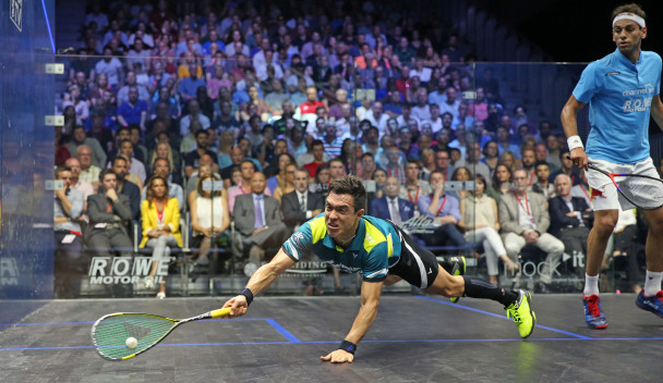 Miguel Angel Rodriguez was the surprise winner of the PSA British Open ©PSA World Tour