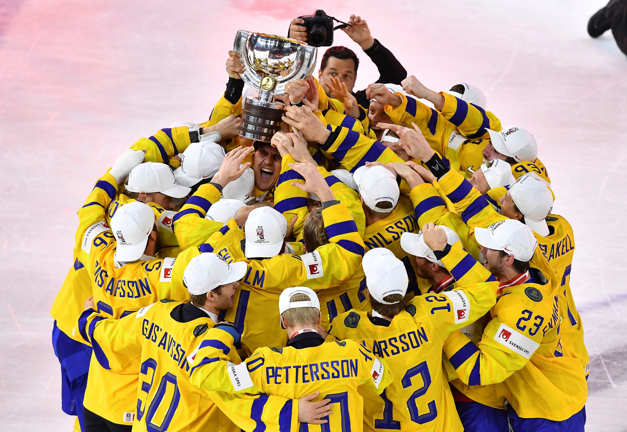 Sweden defended their World Championship title ©Getty Images