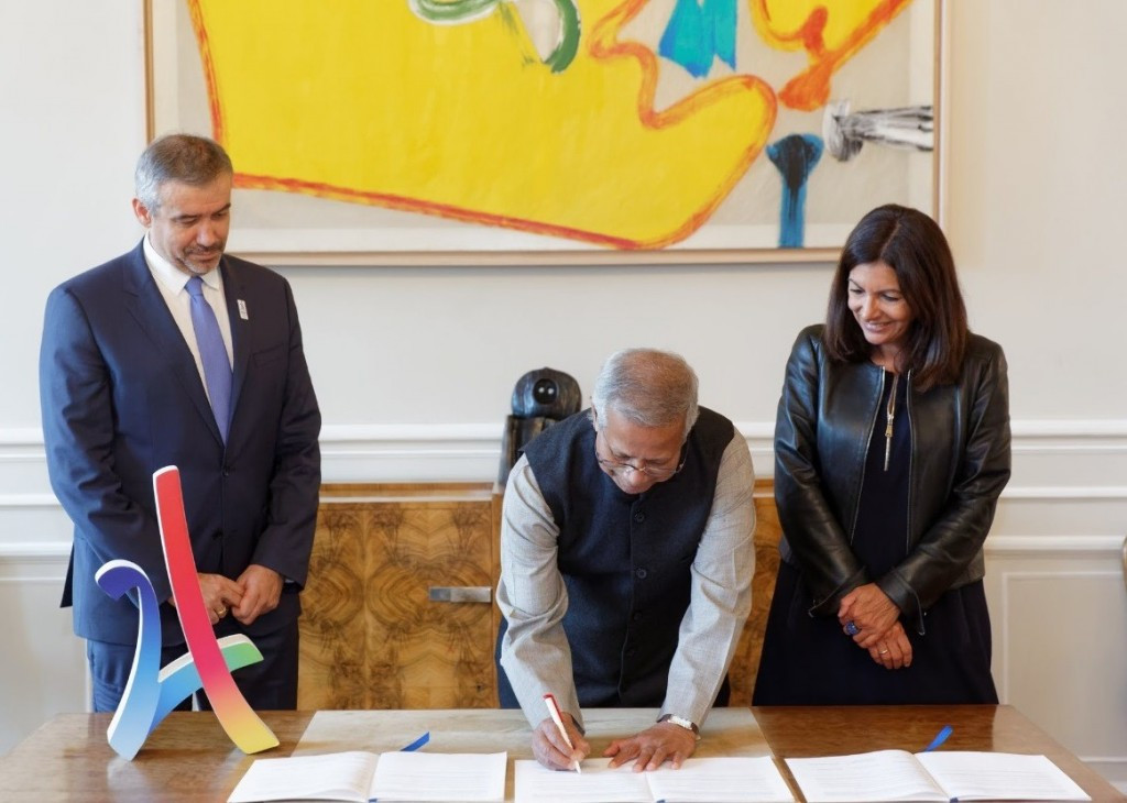 The agreement will strengthen an existing partnership signed with the Yunus Centre in 2016 ©Paris 2024
