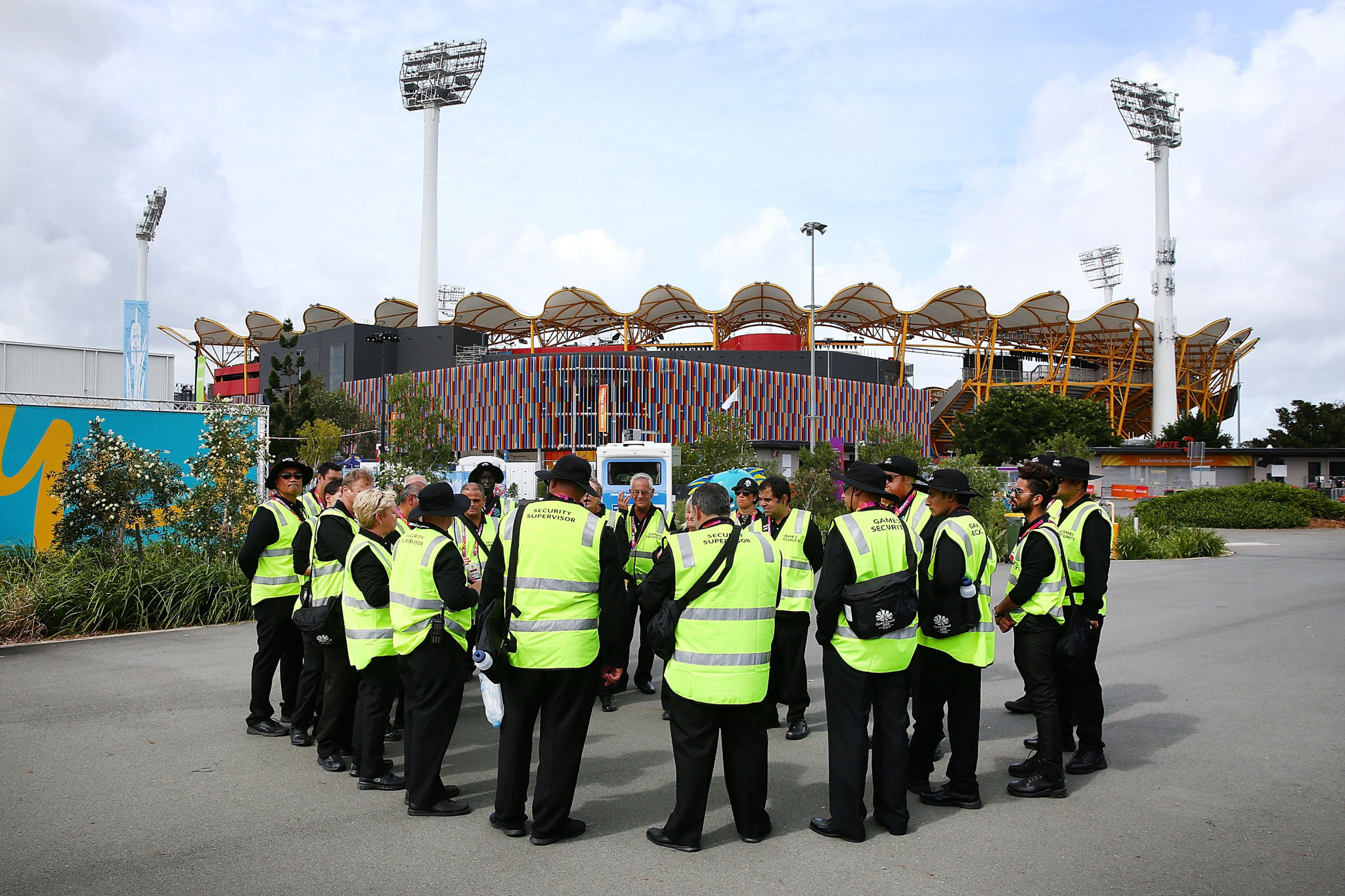 Gold Coast 2018 claim to be helping security staff still awaiting Commonwealth Games payments