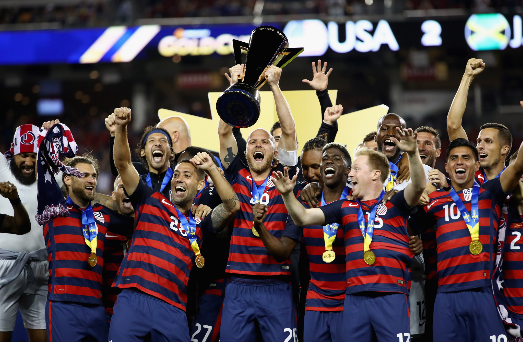 The United States are defending Gold Cup champions ©Getty Images