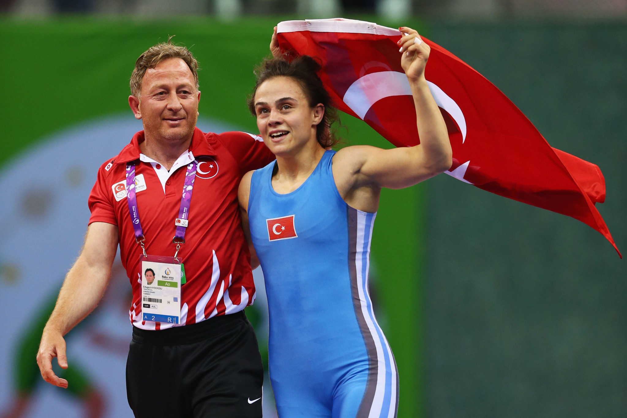 Elif Yesilirmak is one of two Turkish wrestlers at the top of the world rankings ©Getty Images