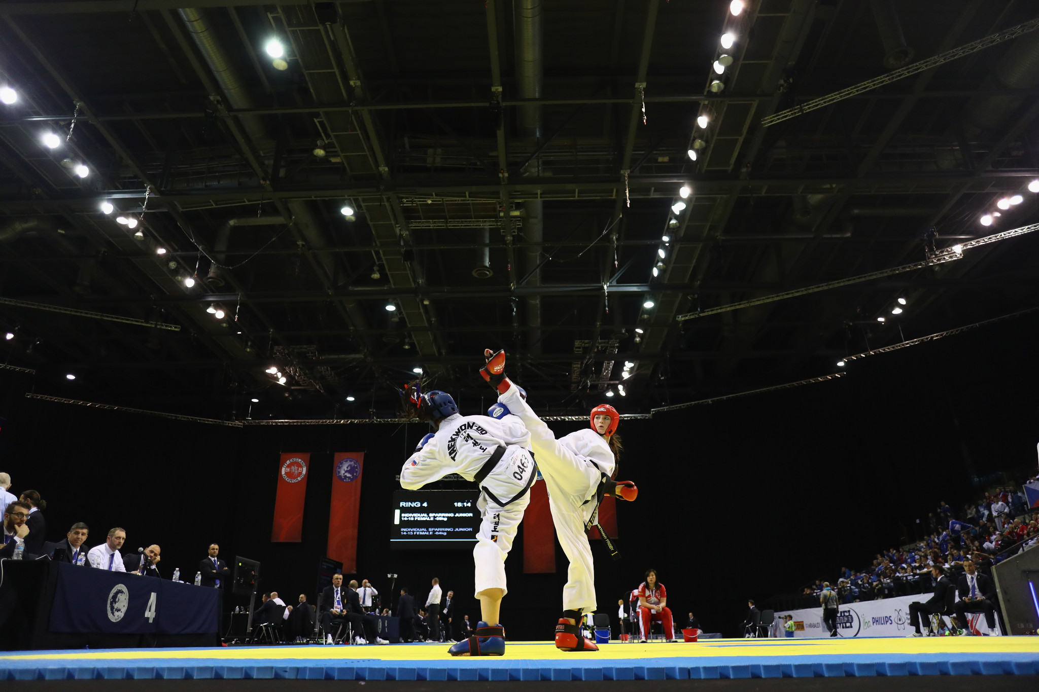 World Taekwondo celebrate after study shows positive impact of events
