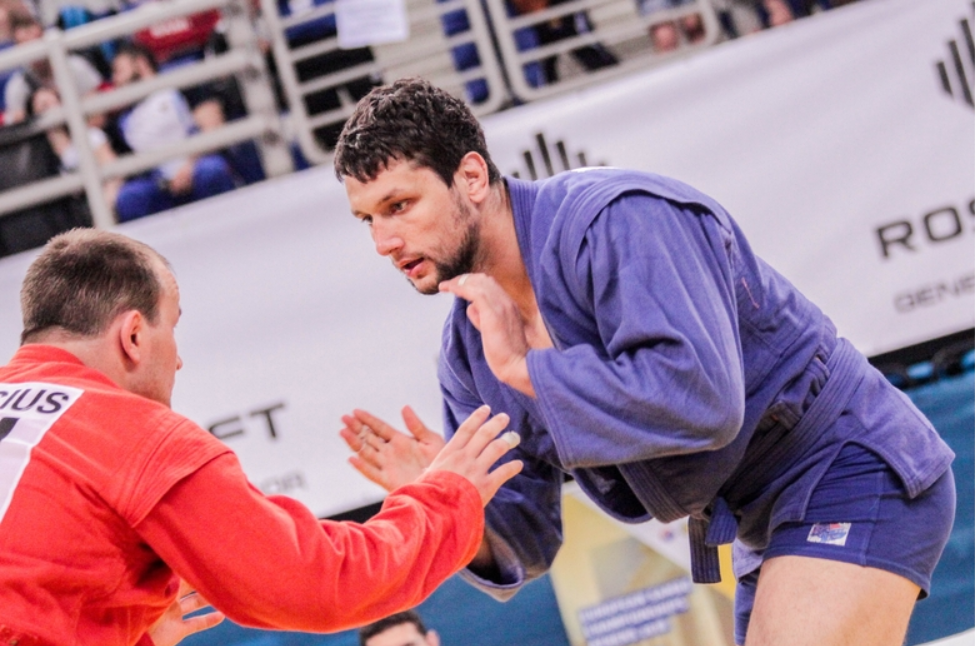Artem Osipenko won the men's over 100 kilograms title to take Russia's final overall tally to 12 ©ESF
