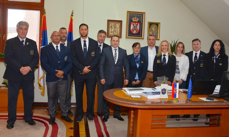 IFBB delegation attend official reception in Čačak