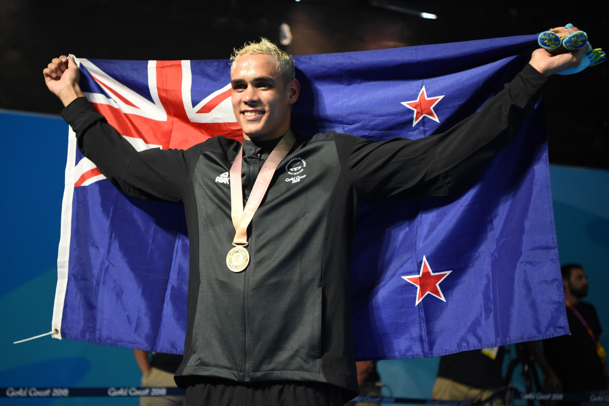 David Nyika's Gold Coast 2018 gold medal has been returned ©Getty Images