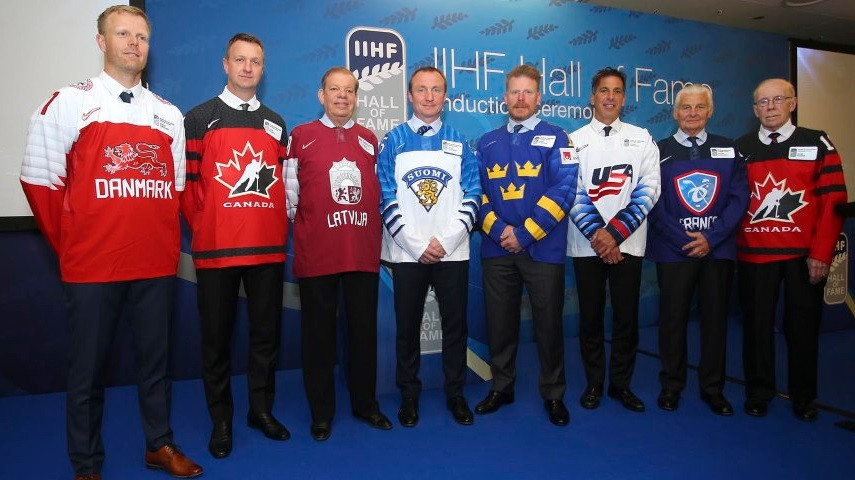 The IIHF have inducted eight people into their Hall of Fame ©IIHF