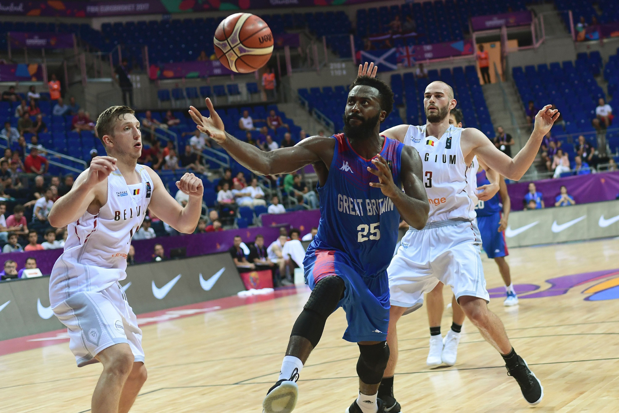 Great Britain's basketball team are under threat due to the funding problems ©Getty Images