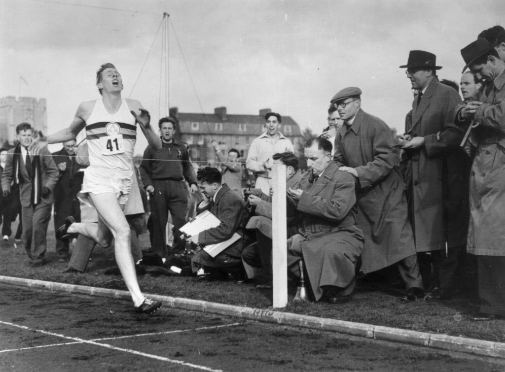 Roger Bannister was a pioneer of anti-doping as well as middle distance running ©Getty Images