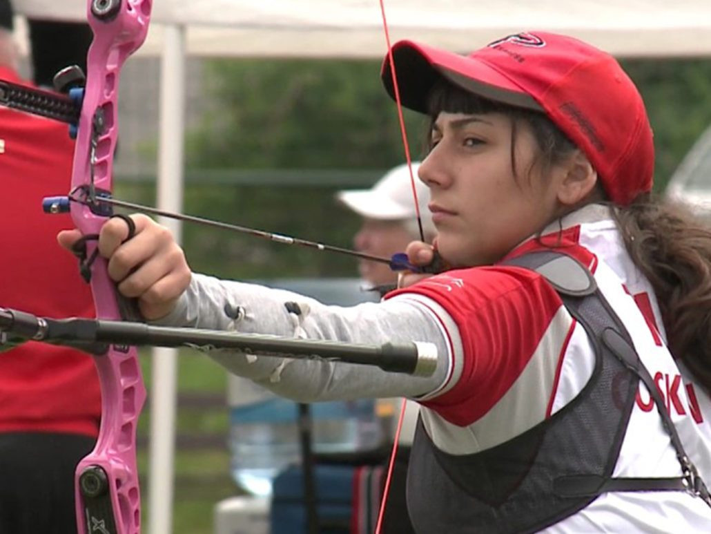 Gulnaz Coskun beat Olympic silver medallist Lisa Unruh in the women's recurve event ©Veronica's Cup