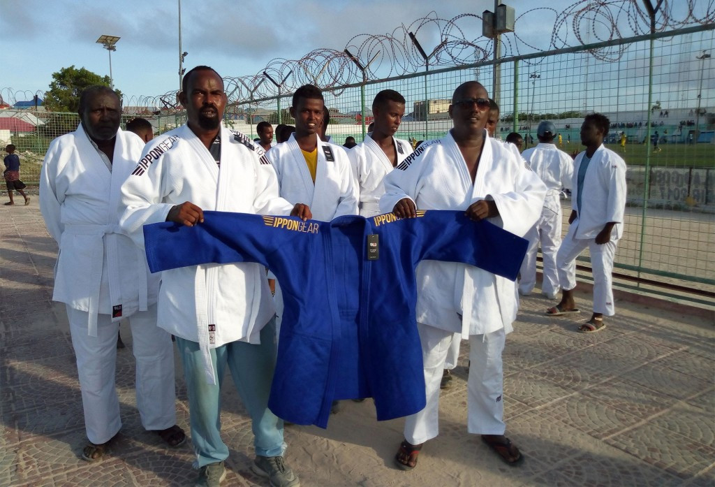 IJF send judo equipment to Somalia in bid to bring peace
