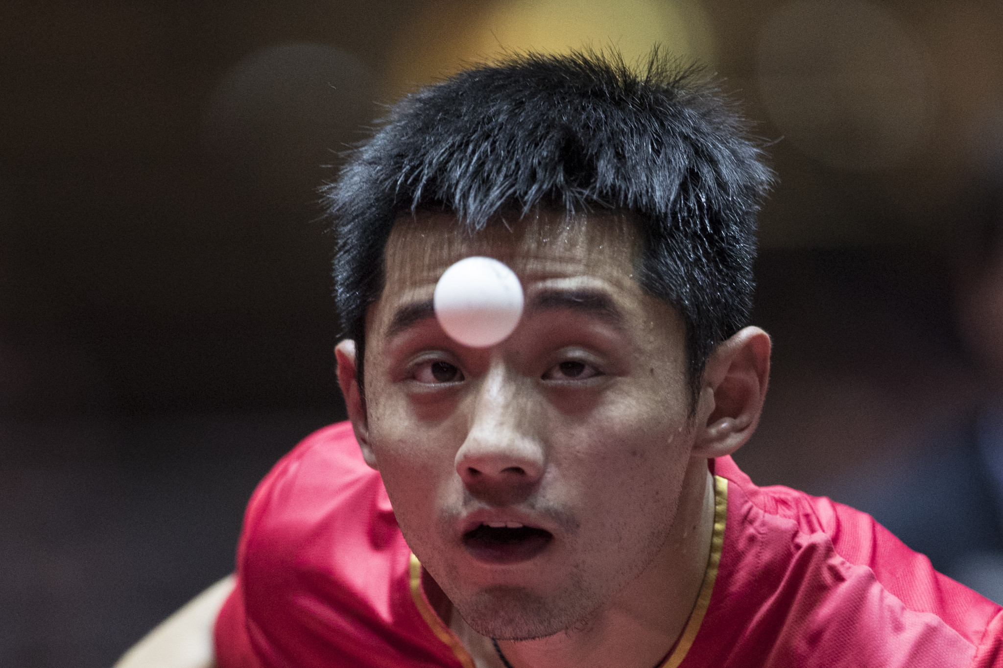 Zhang Jike is competing at the ITTF Hong Kong Open ©Getty Images