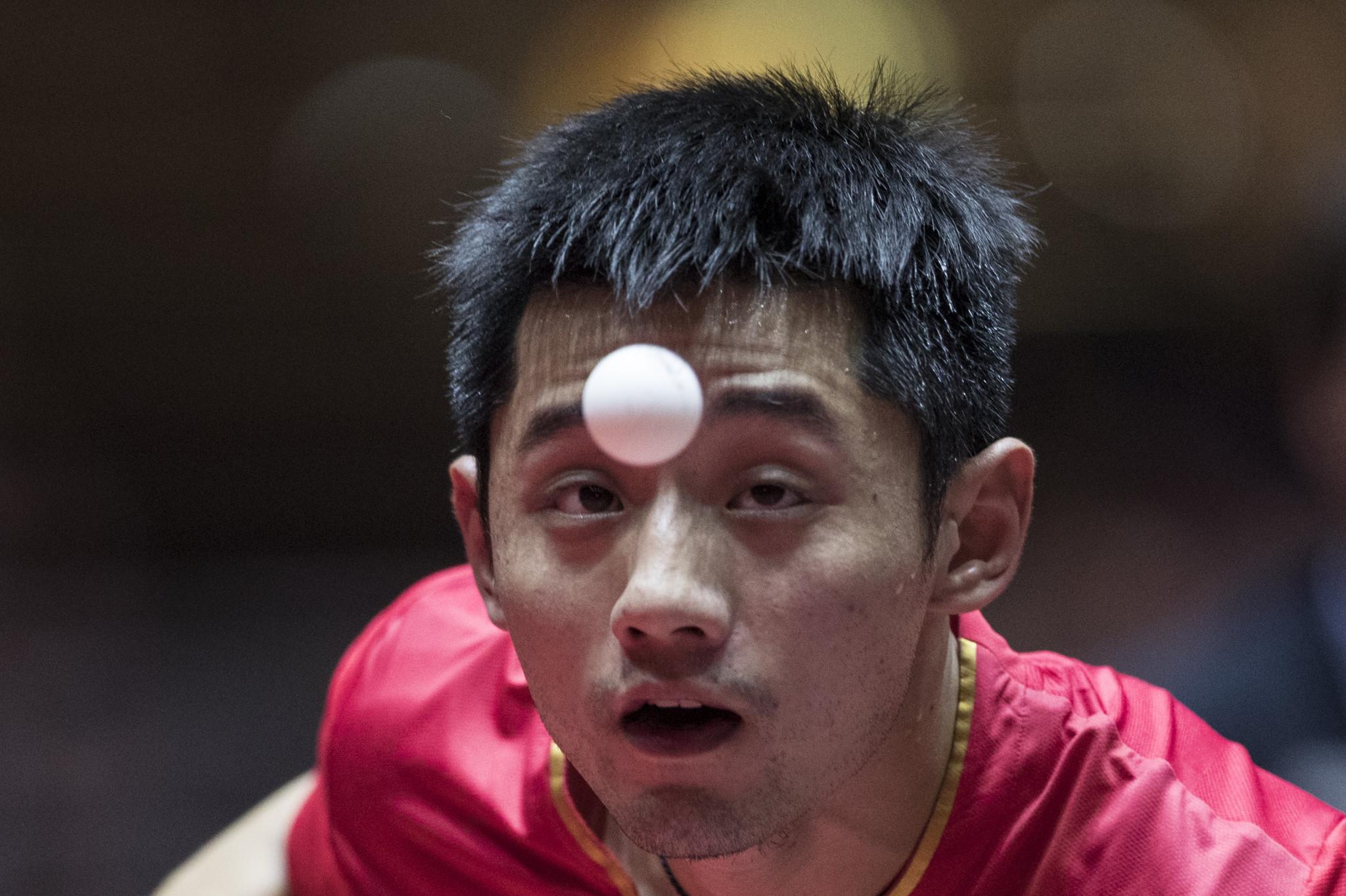 Zhang Jike seeks successful international return at ITTF Hong Kong Open