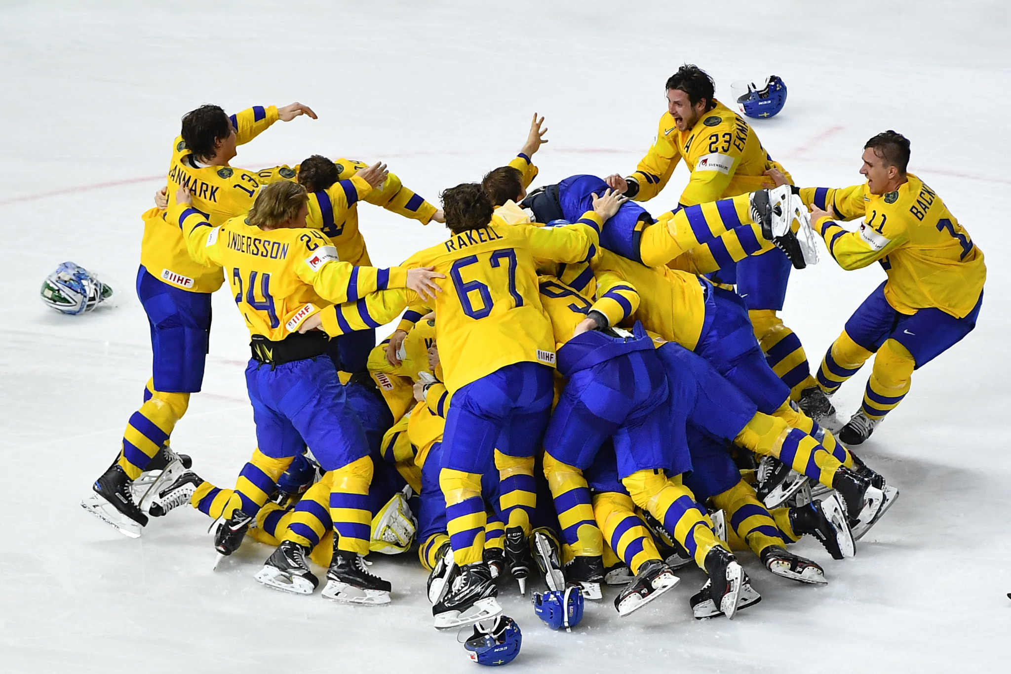 Back-to-back world champions Sweden have moved up to second position ©Getty Images