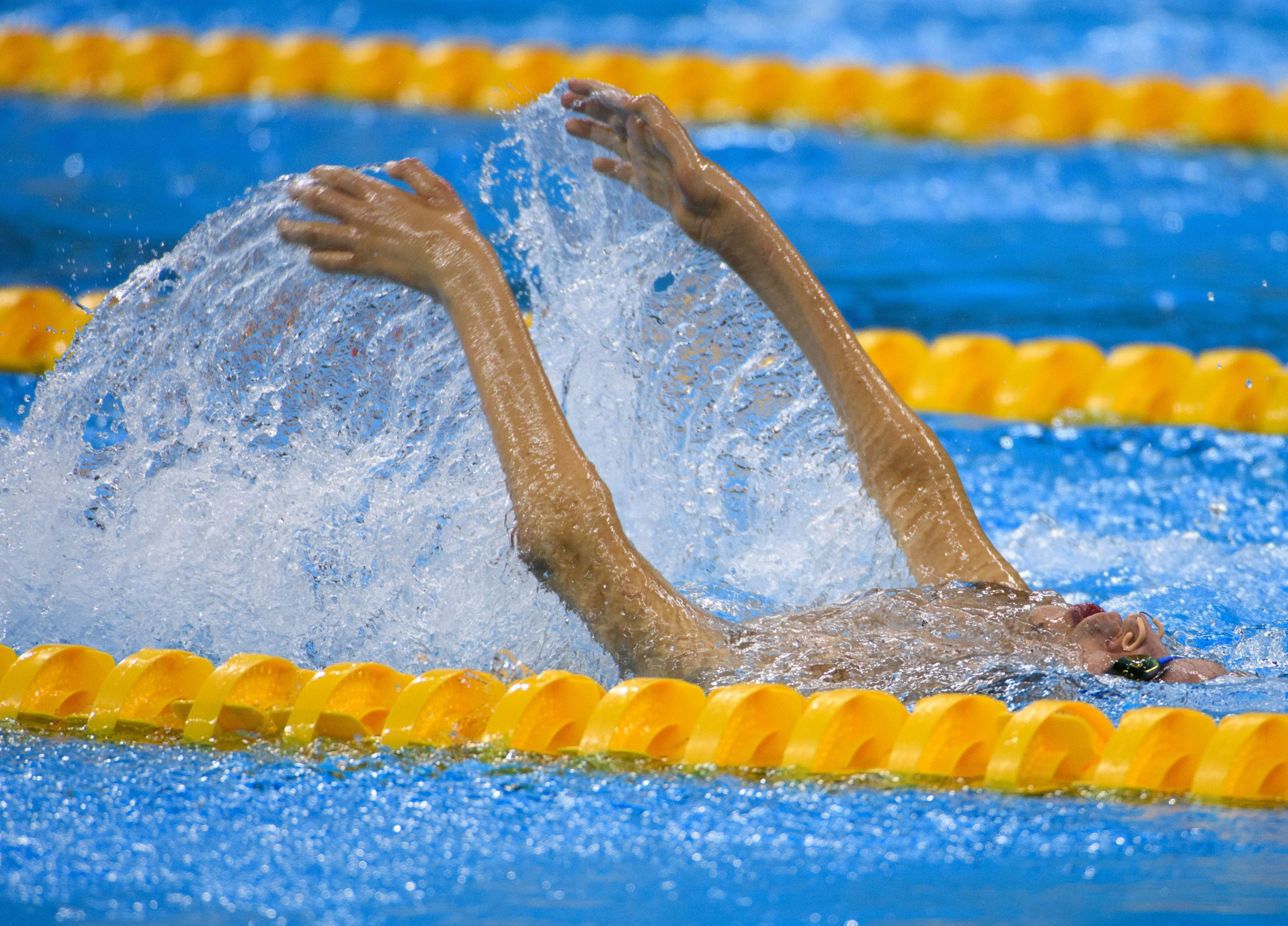 Battella doubling as medal contender and Organising Committee head at World Para Swimming World Series
