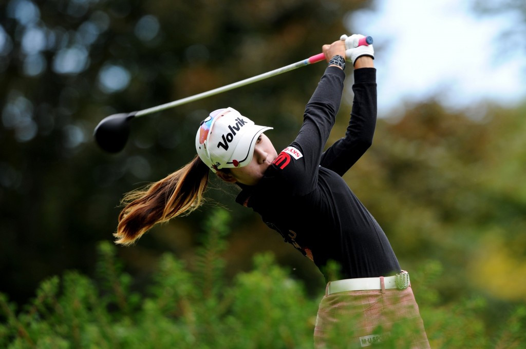Mi Hyang Lee holds one-shot advantage at halfway point of Evian Championship after another impressive round