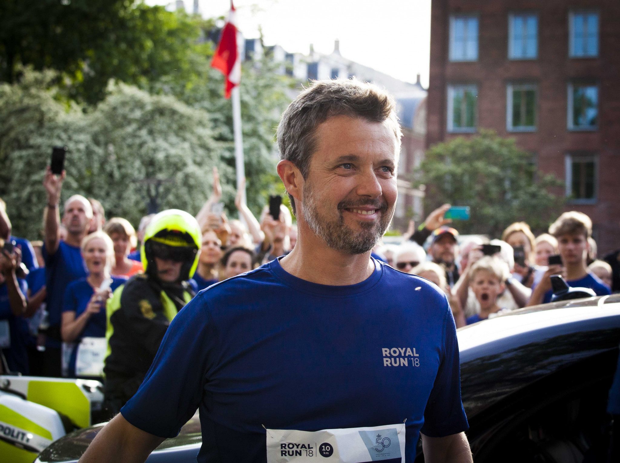 IOC member Prince Frederik runs in five cities to celebrate 50th birthday