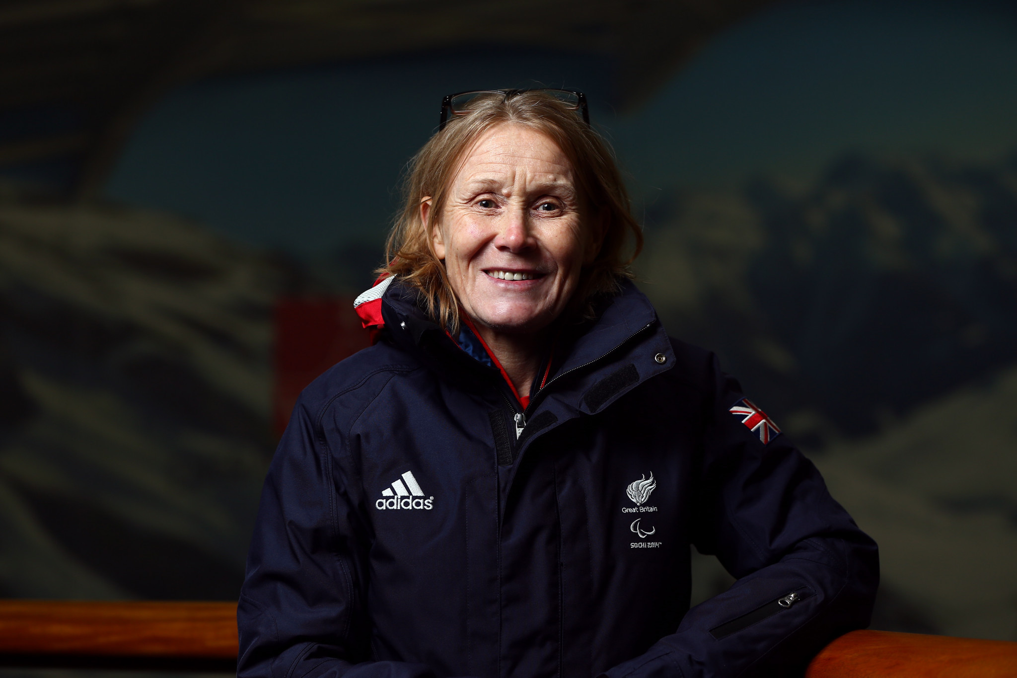 Penny Briscoe has led the British Paralympic team into three Paralympic Games ©Getty Images