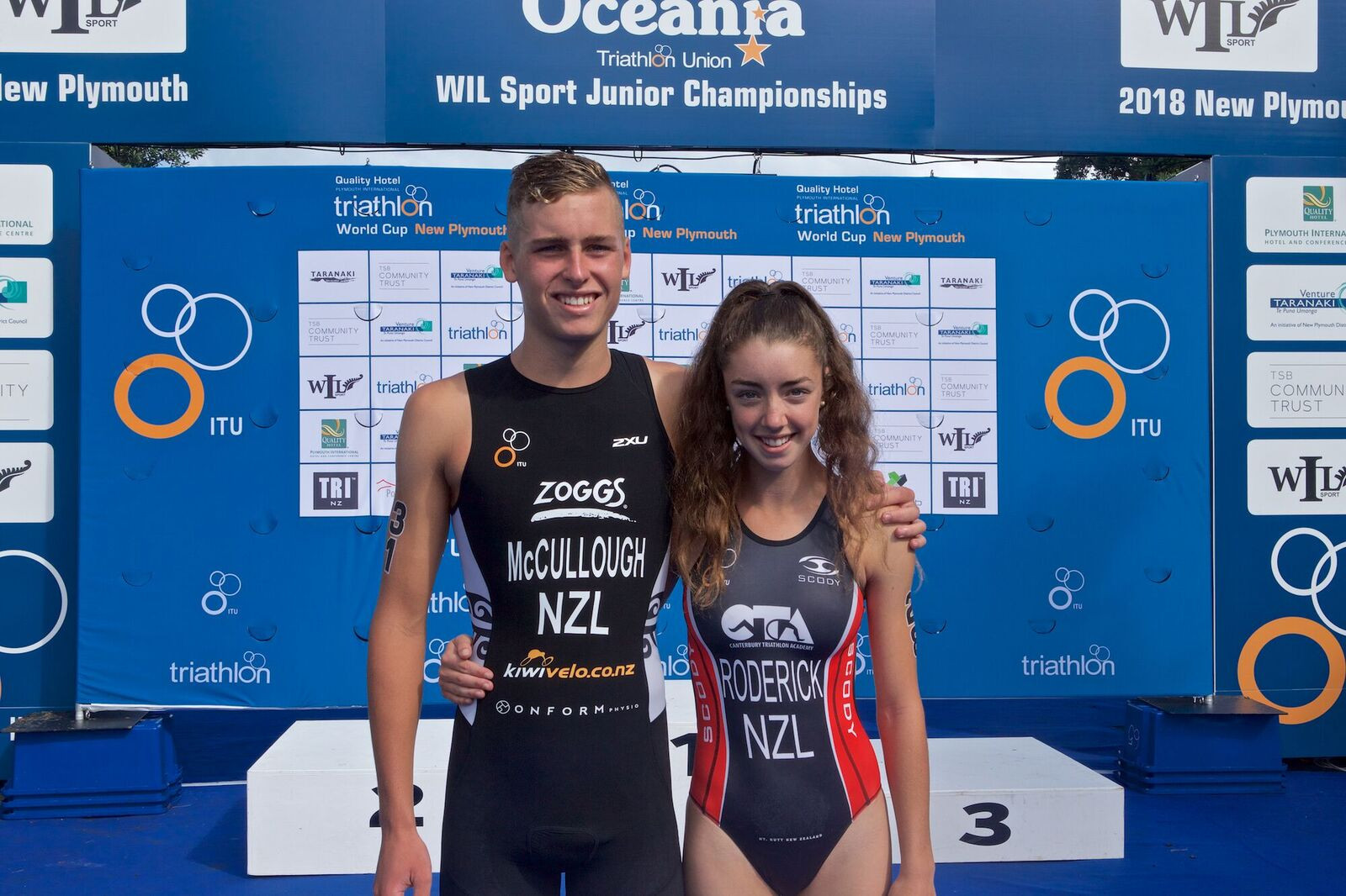 New Zealand select Buenos Aires 2018 triathletes
