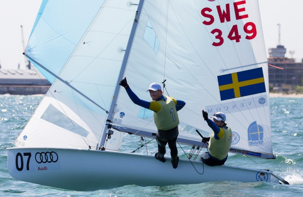 Sweden secure men's title with day to spare at European 470 Championships