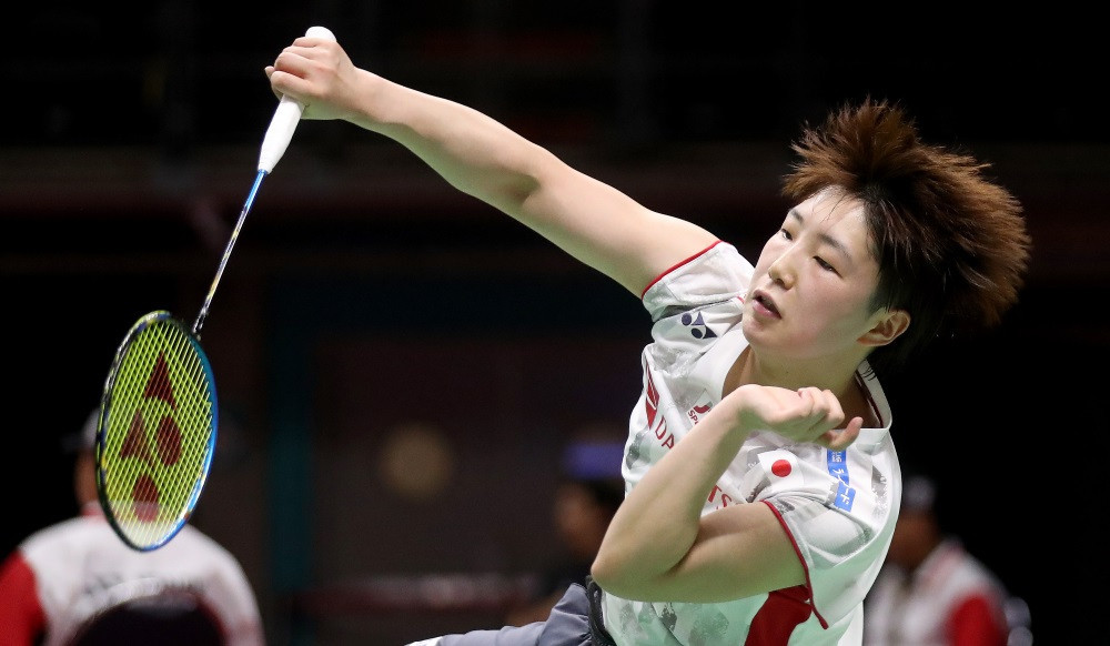 Akane Yamaguchi earned a thrilling win today for Japan ©Getty Images