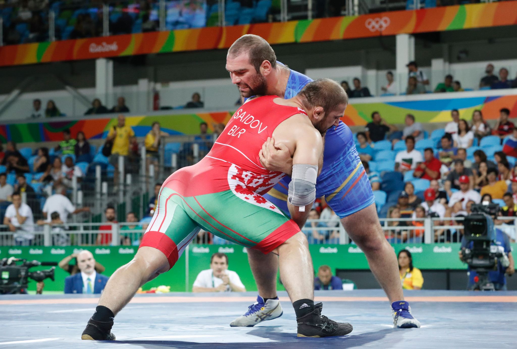 Belarus are hoping to medal in every wrestling division at their home European Games ©Getty Images