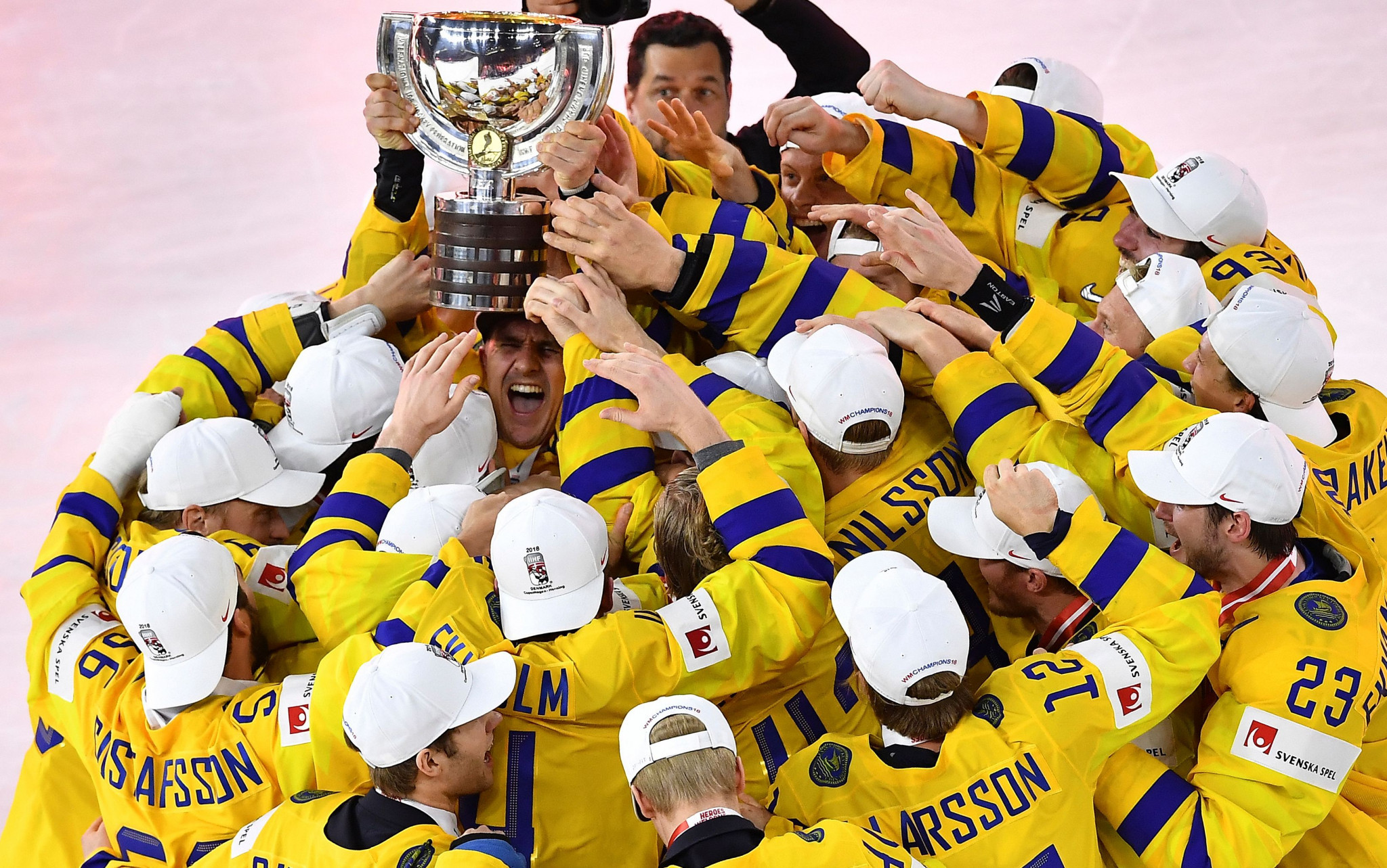 Sweden will be aiming for a third title in a row ©Getty Images