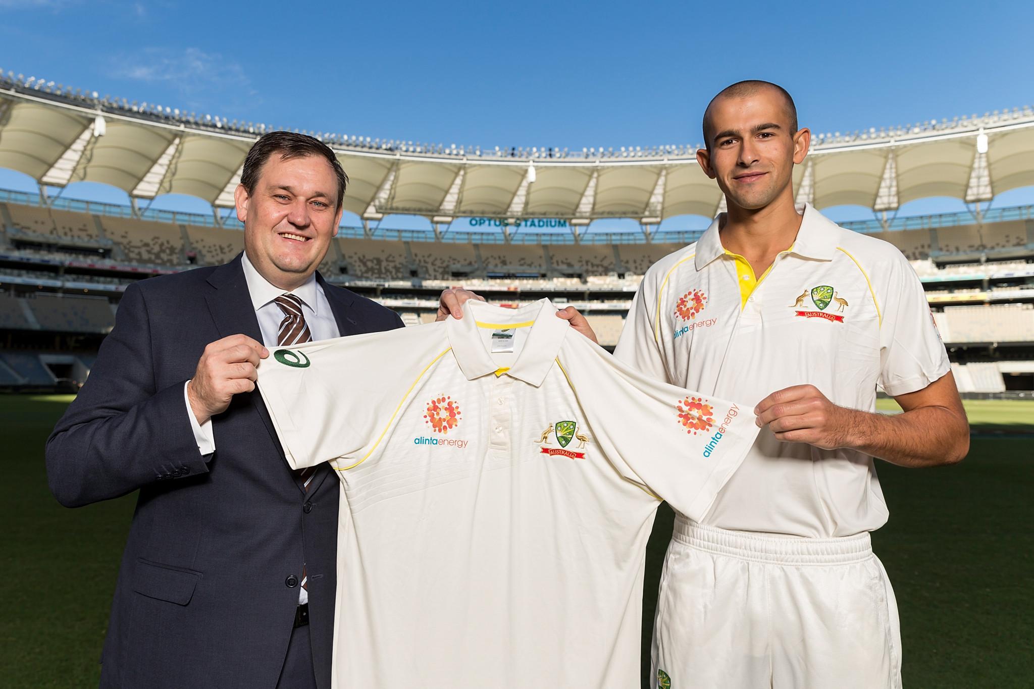 Cricket Australia announce Alinta Energy as shirt sponsor