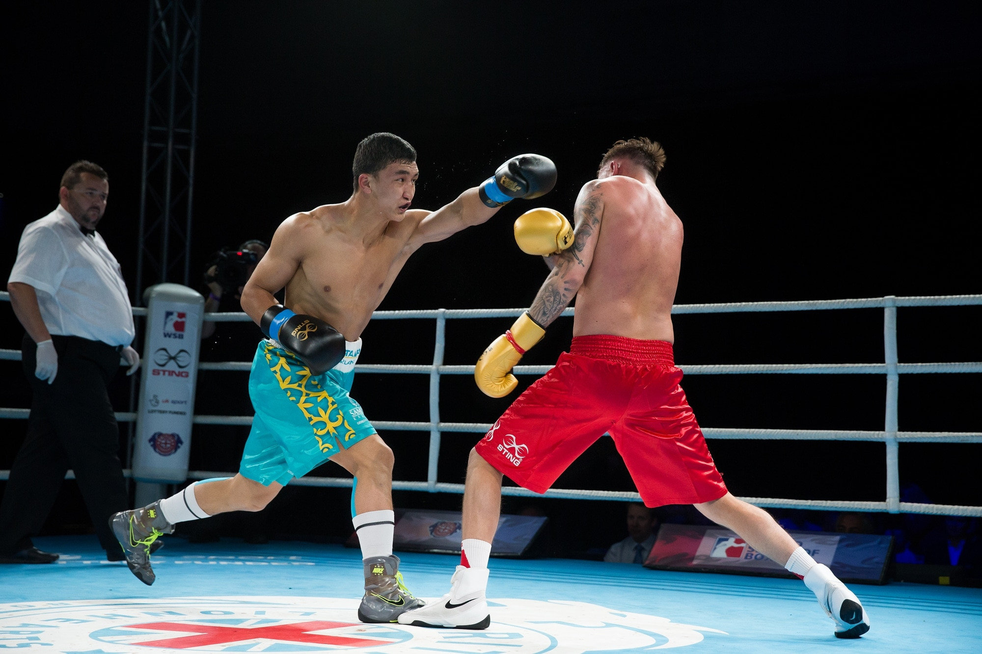 Astana Arlans Kazakhstan will look to finish the job against the British Lionhearts ©WSB