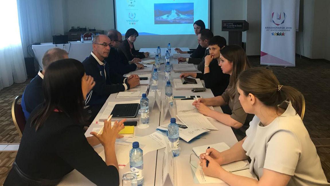 Various meetings will be held in the Russian city ©Krasnoyarsk 2019
