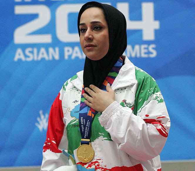 Iran make history by selecting two female flagbearers for Asian Para Games