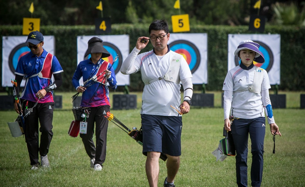 South Korea will also contest the mixed recurve final ©World Archery