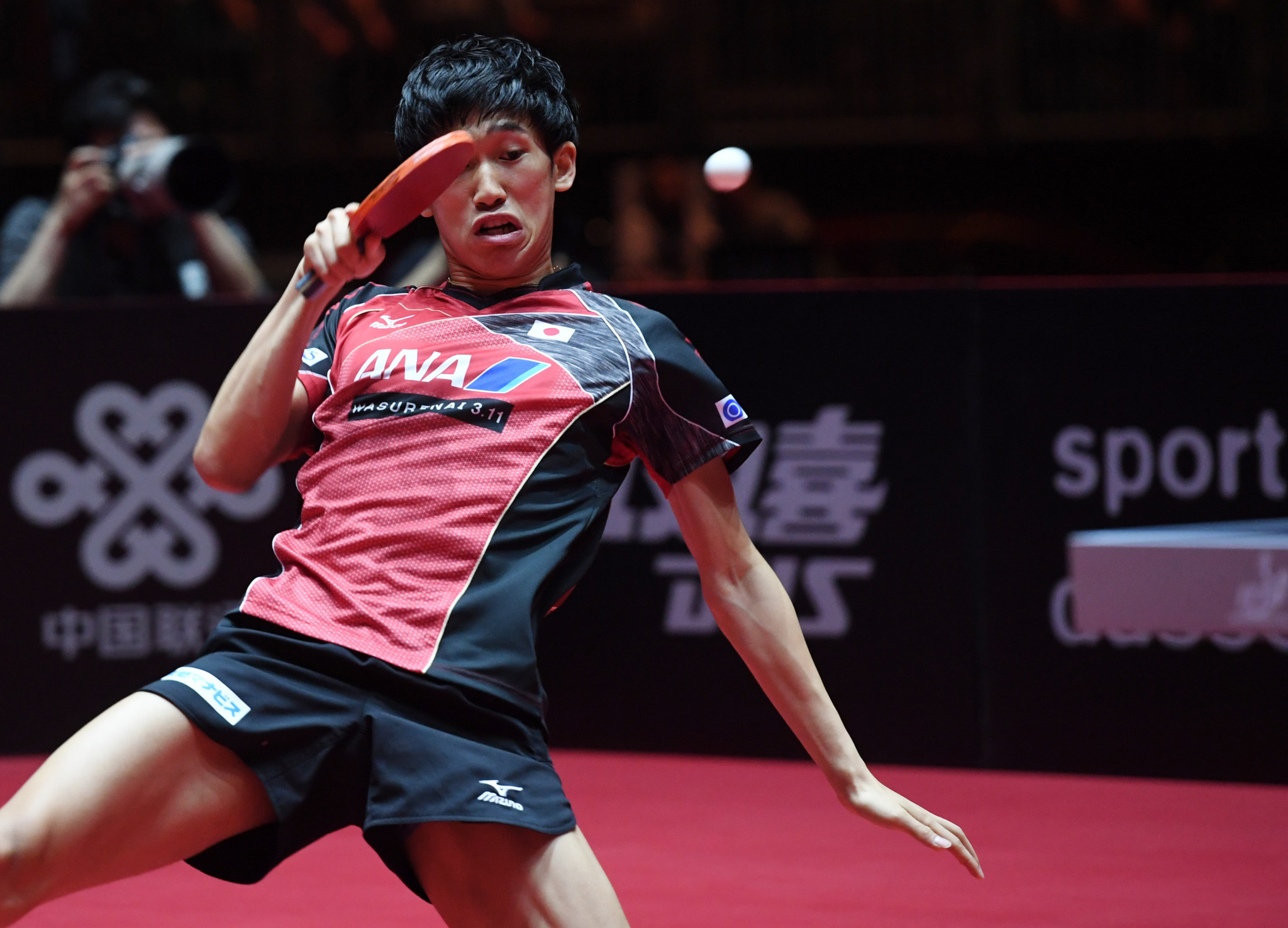 Maharu Yoshimura beat Zhang Jike in the first round in Hong Kong ©Getty Images