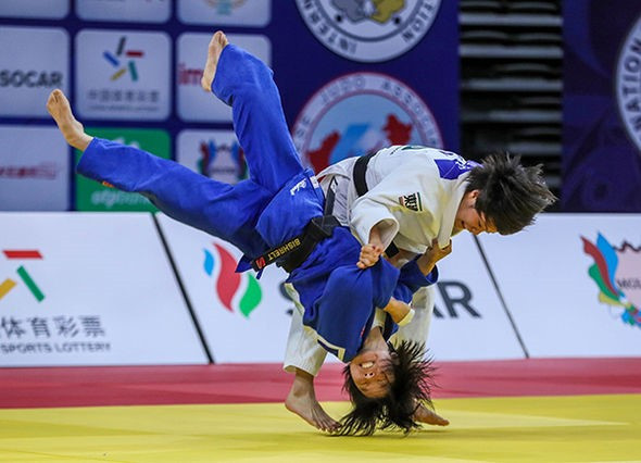 Abe continues remarkable winning run with victory at IJF Grand Prix in Hohhot